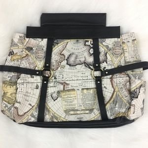 Miche prima gina world map atlas faux leather bag poshmark miche bags miche prima gina world map atlas faux leather bag gumiabroncs Image collections